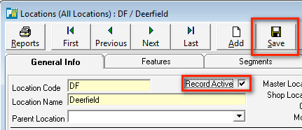 Active Record Check Box