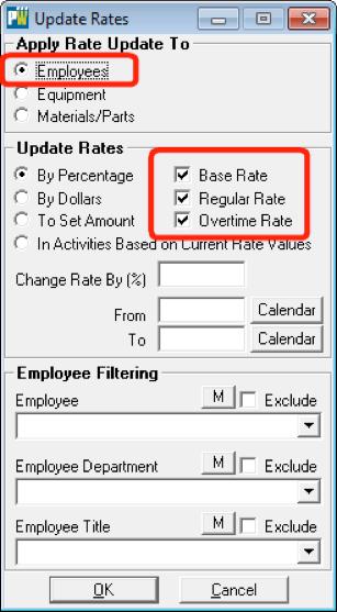 update rates